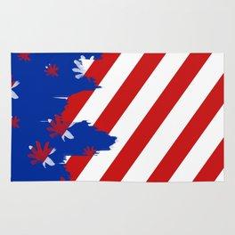 Patriotic Painting Rug