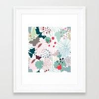 wonderland Framed Art Prints featuring Wonderland by Demi Goutte