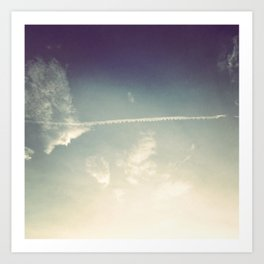 sky wash Art Print