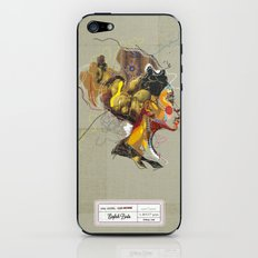 Erykah Badu - Soul Sister | Soul Brother iPhone & iPod Skin