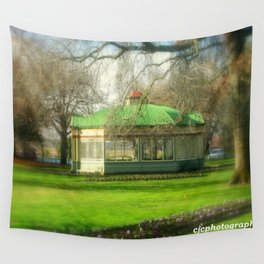 The Statuary Pavilion Wall Tapestry