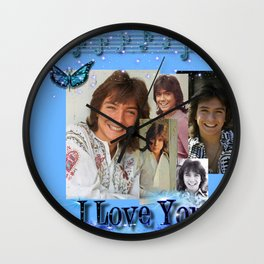 David Cassidy - Musical Spark Wall Clock