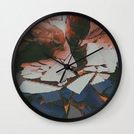 Lychee Mosaic Wall Clock
