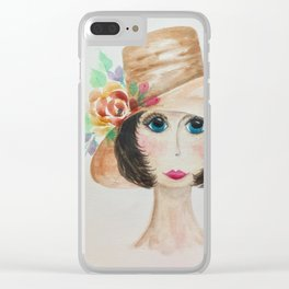 Vivienne Clear iPhone Case
