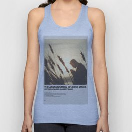 Assassination of Jesse James by the Coward Robert Ford Minimal Movie Poster No 02 Unisex Tank Top