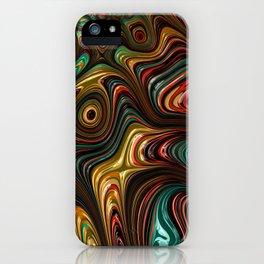 Trippy Fractal iPhone Case