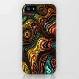 Trippy Fractal iPhone Case