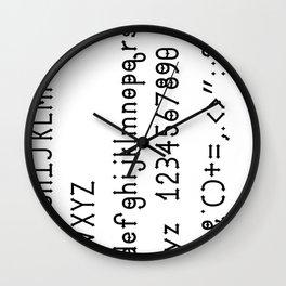 Dymond Speers Solid Version Wall Clock