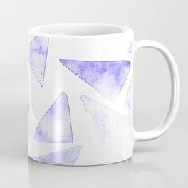 Purple Geometrics Coffee Mug