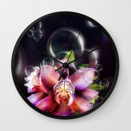 Soap Bubbles Wall Clock