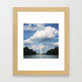 Washington Monument Framed Art Print