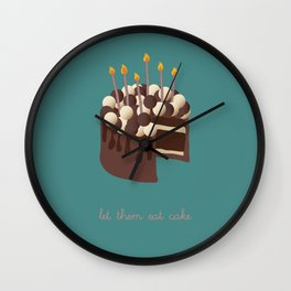 Let them eat cake... Wall Clock