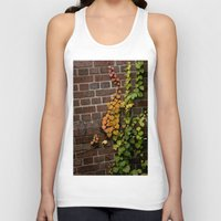 climbing Tank Tops featuring Climbing by C. Wie Design
