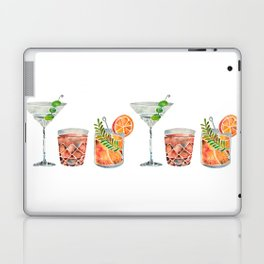 Classic Cocktails  – 1960s Watercolor Lineup Laptop & iPad Skin