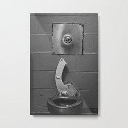 Broken Steel Toilet, B Metal Print