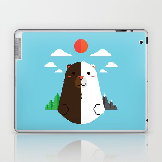 Grizzly & Polar Laptop & iPad Skin