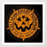 Cult of the Great Pumpkin: Alchemy Logo Art Print