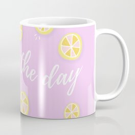 Squeeze The Day | Lemons Coffee Mug