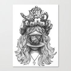 Teagritte Canvas Print