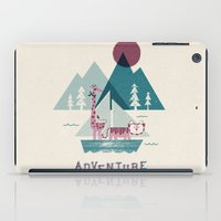 adventure iPad Cases featuring Adventure by Jenny Tiffany