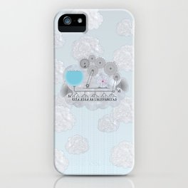 Cross-Section of a Cloud iPhone Case