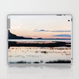 Sunset in Iceland - nature landscape Laptop & iPad Skin