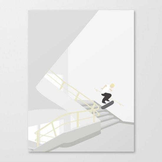 TRAPPESKAKT Canvas Print