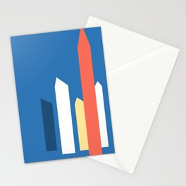 satellite towers of barragan ecopop Stationery Cards