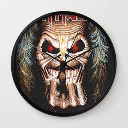 iron maiden album 2021 katrin31 Wall Clock