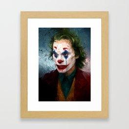 Arthur Fleck Framed Art Print
