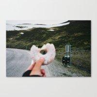 doughnut Canvas Prints featuring Doughnut by A. Serdyuk