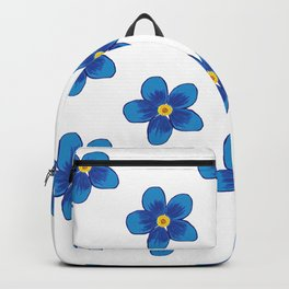 Blue Blossoms Backpack