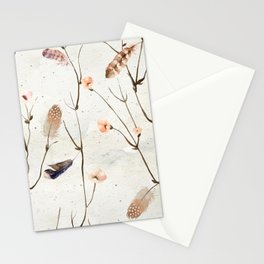 Feather Tree Stationery Cards