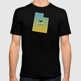 Utah Pickleball Sunset T-shirt