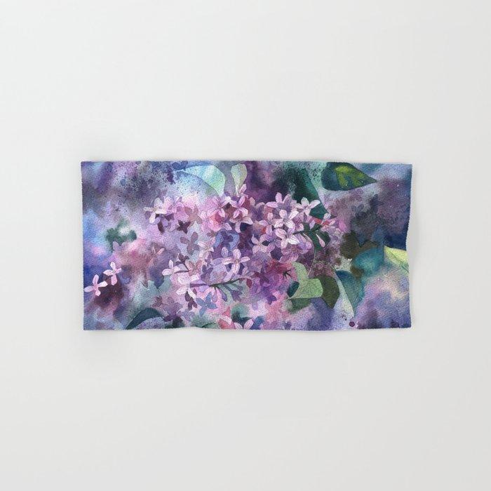 Lilac Hand & Bath Towel