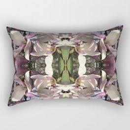 Magnolia Tree Backbone Rectangular Pillow