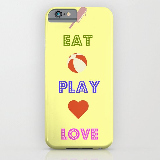 Eat Play Love iPhone & iPod Case