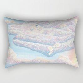 Les anges gardiens de l'amour Rectangular Pillow
