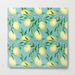 Lemon mood.1 Metal Print