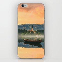 Golden Getaway iPhone Skin
