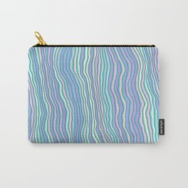 Noisy colorful stripes Carry-All Pouch