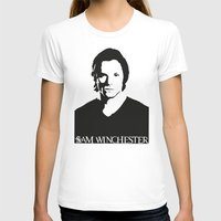 sam winchester T-shirts featuring Sam Winchester by TeganFanella