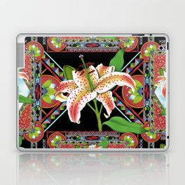 Gilding the Lily Pattern Laptop & iPad Skin