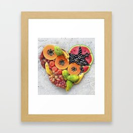 Heart1 Framed Art Print