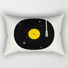 Music, Everywhere Rectangular Pillow