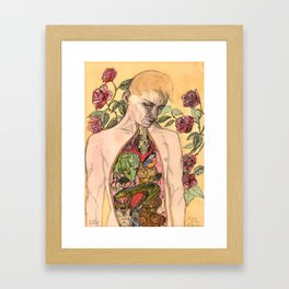 Magical Anatomy:  Young Naturalist Framed Art Print