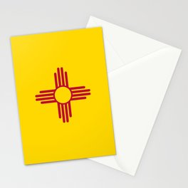 State flag of New Mexico - Authentic version Stationery Cards