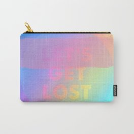 LET'S GET LOST Carry-All Pouch
