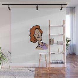 MARIE-SOLANGE / la voix de Villeray / En tout cas. Wall Mural