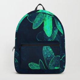 neon leaves Backpack